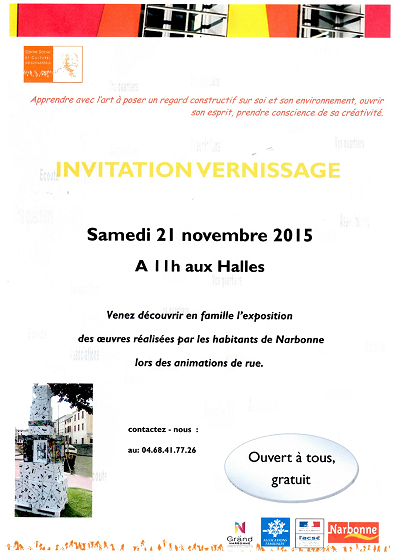 vernissage 21 nov